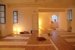 Cours Yoga du Son Nantes - Salle de pratique espace O fil de l'air